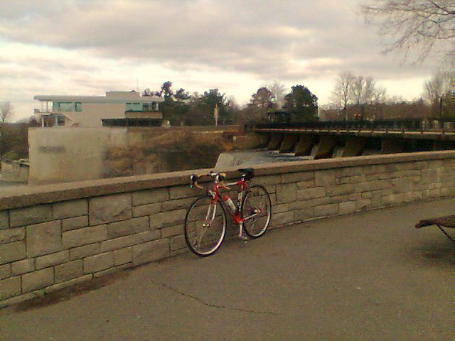 Ride to Rideau Falls.