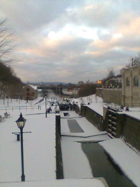 Ottawa Locks, Rideau Canal.